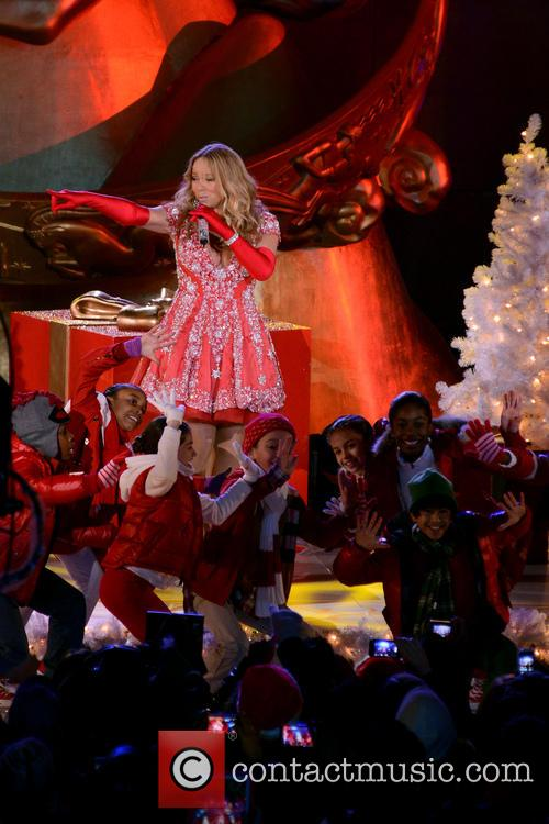 Mariah Carey, Tree Lighting Ceremony, Rockefeller Center