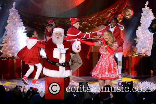 Mariah Carey, Tree Lighting Ceremony and Rockefeller Center 13