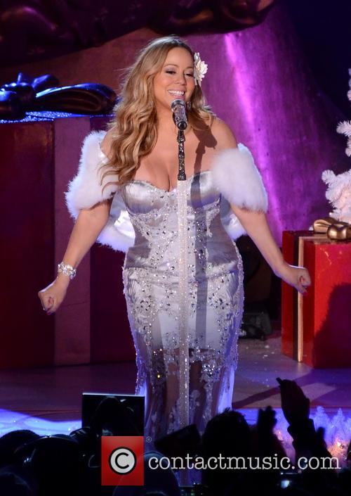 Mariah Carey, Tree Lighting Ceremony and Rockefeller Center 14