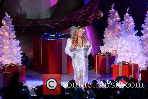 Mariah Carey, Tree Lighting Ceremony and Rockefeller Center 19