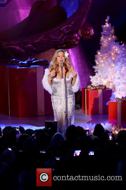 Mariah Carey, Tree Lighting Ceremony and Rockefeller Center 20