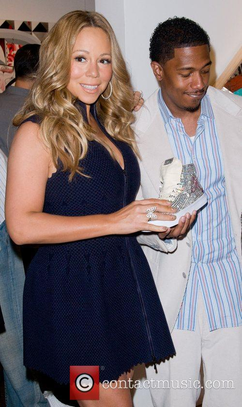 Mariah Carey and husband Nick Cannon Project Canvas...
