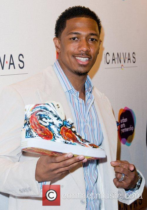 Nick Cannon Project Canvas Art Gala - Arrivals...