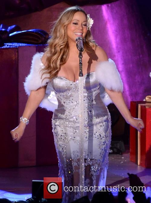 Mariah Carey, Tree Lighting Ceremony and Rockefeller Center 5