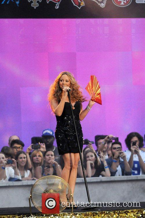 mariah carey performs during the 2012 nfl 4060331