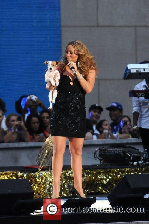 mariah carey performs during the 2012 nfl 4060358