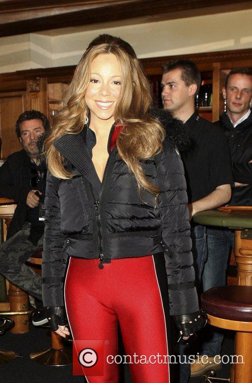 Mariah Carey  arrives to the 'Top of...
