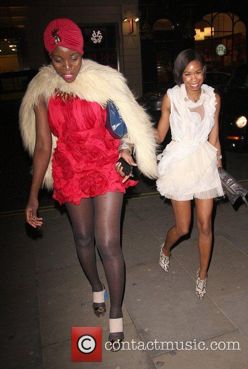Marian Kihogo and Tolula Adeyemi,  at the...
