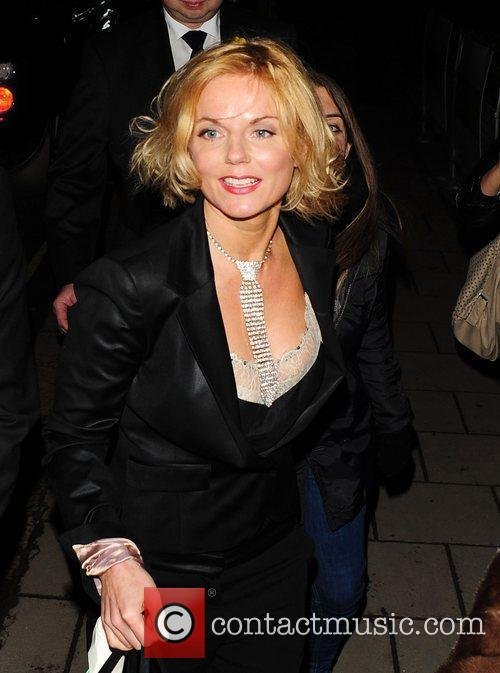 Geri Halliwell at the Marie Curie Cancer Care...
