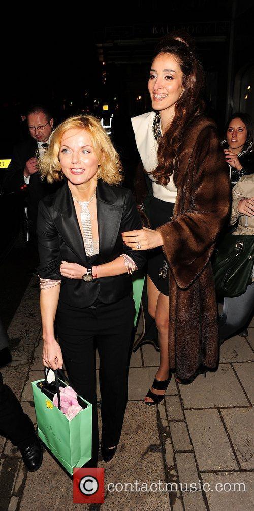 Geri Halliwell, Princess Beatrice and Sarah Ferguson 3