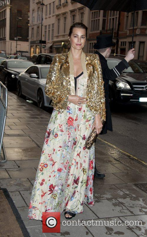 Yasmin Le Bon Celebrities attend the Marie Curie...