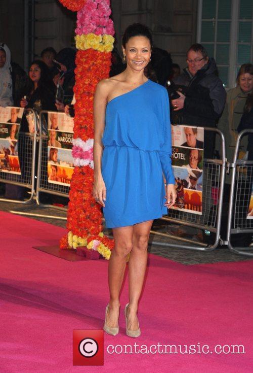 Thandie Newton The Best Exotic Marigold Hotel world...