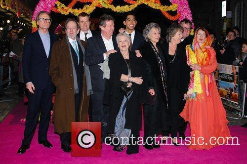 Celia Imrie, Bill Nighy, John Madden, Judi Dench, Penelope Wilton and Tom Wilkinson 1