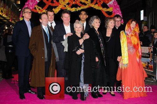 Celia Imrie, Bill Nighy, John Madden, Judi Dench, Penelope Wilton and Tom Wilkinson 5