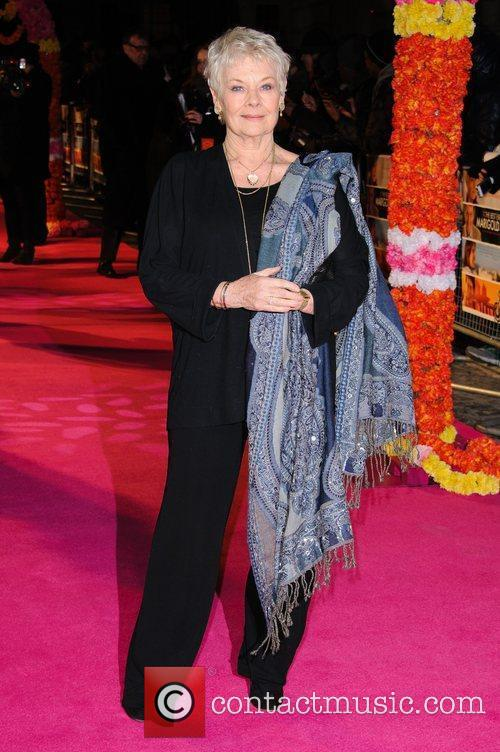 Dame Judi Dench 'The Best Exotic Marigold Hotel'...