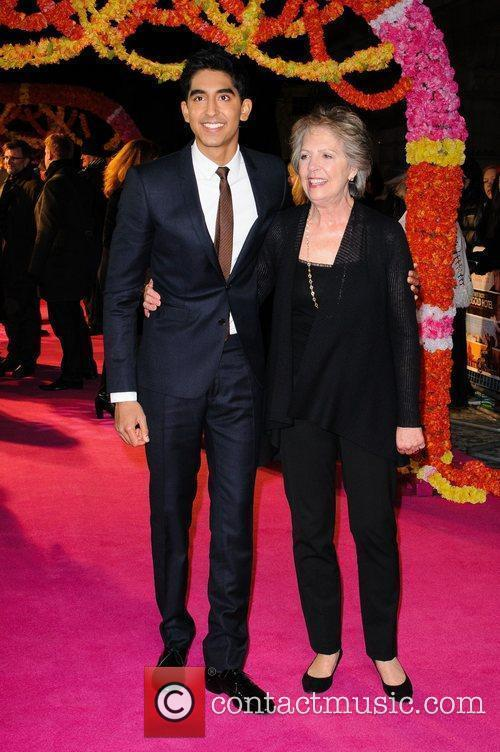 Dev Patel and Penelope Wilton 4