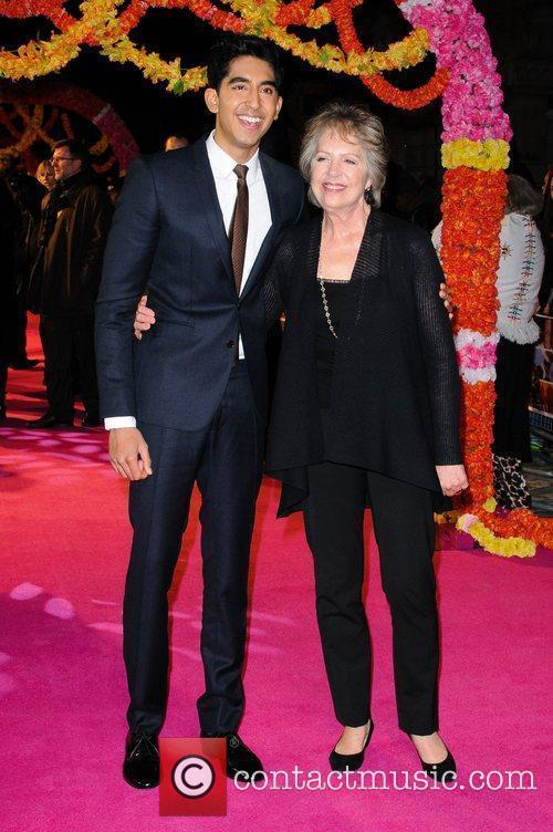 Dev Patel and Penelope Wilton 5
