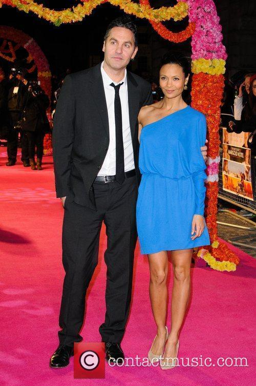 Ol Parker and Thandie Newton 'The Best Exotic...
