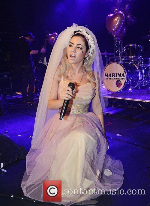 Marina Diamandis and Marina And The Diamonds