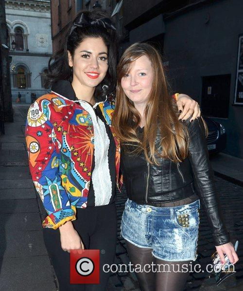 Marina Diamandis, Diamonds, The Olympia Theatre Stage, Door, Dublin and Ireland 2