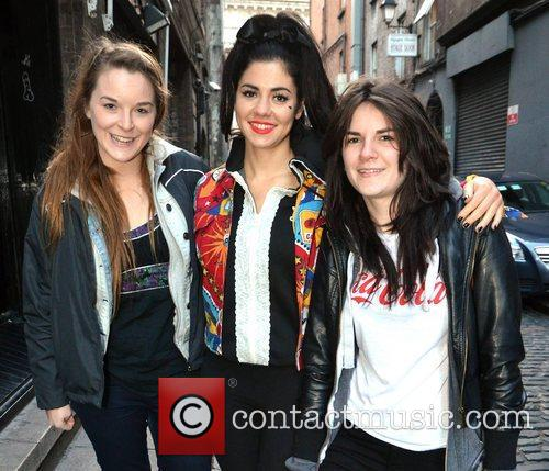 Marina Diamandis, Diamonds, The Olympia Theatre Stage, Door, Dublin and Ireland 5