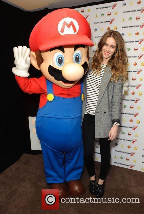 The launch of Mario Kart 7 held at...