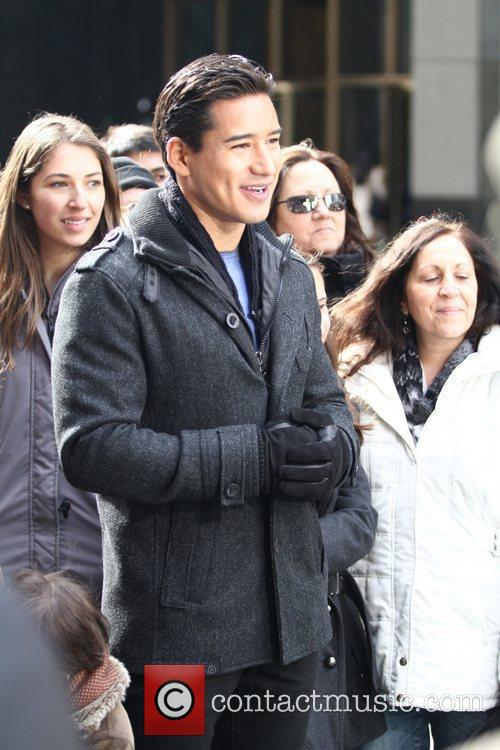 Mario Lopez and Times Square 3