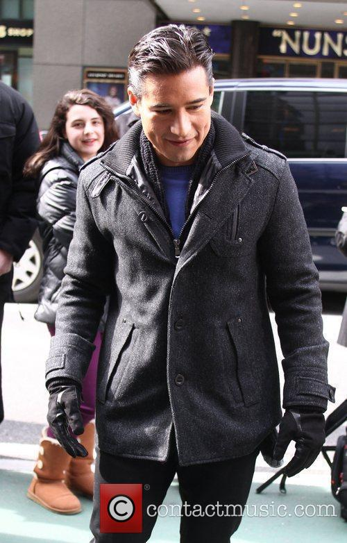 Mario Lopez and Times Square 7