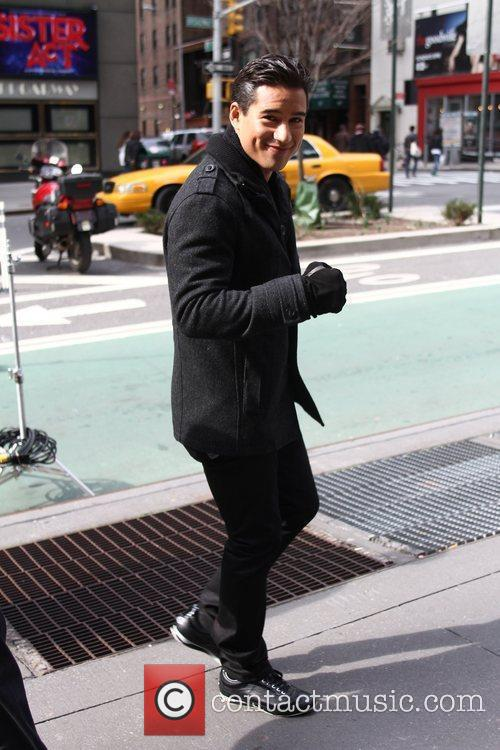 Mario Lopez and Times Square 8
