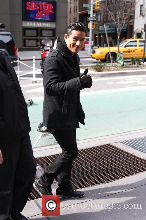 Mario Lopez and Times Square 10