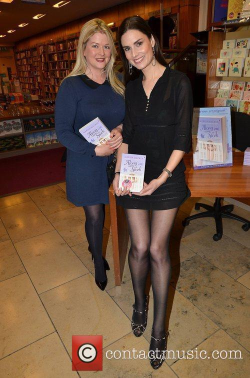 Author Marisa Mackle launches her new book, 'Along...