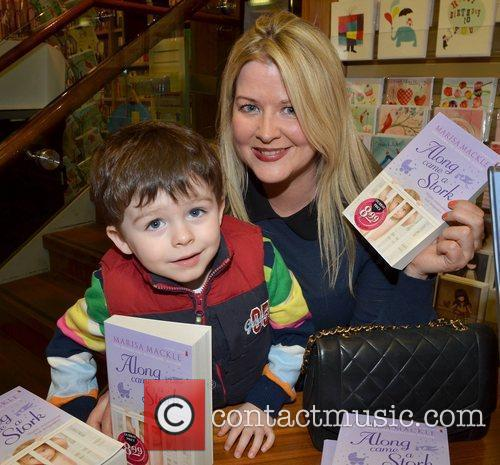 Marisa Mackle  Author Marisa Mackle launches her...