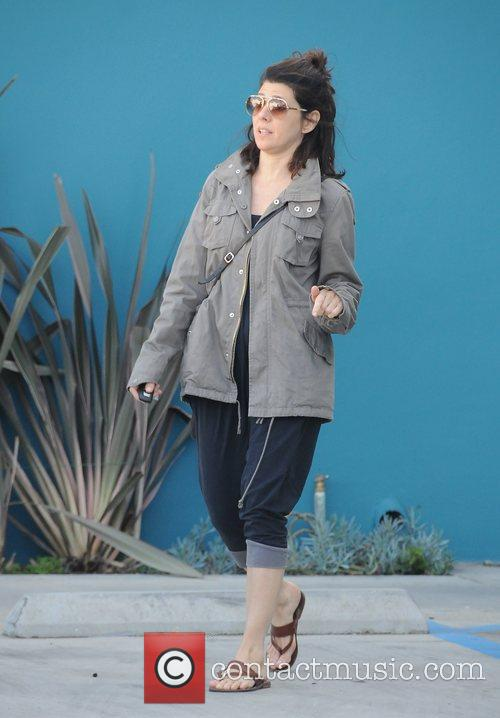Leaving Yoga class in West Hollywood