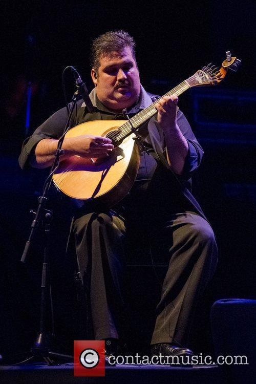 Performing live in concert at Coliseu dos Recreios...