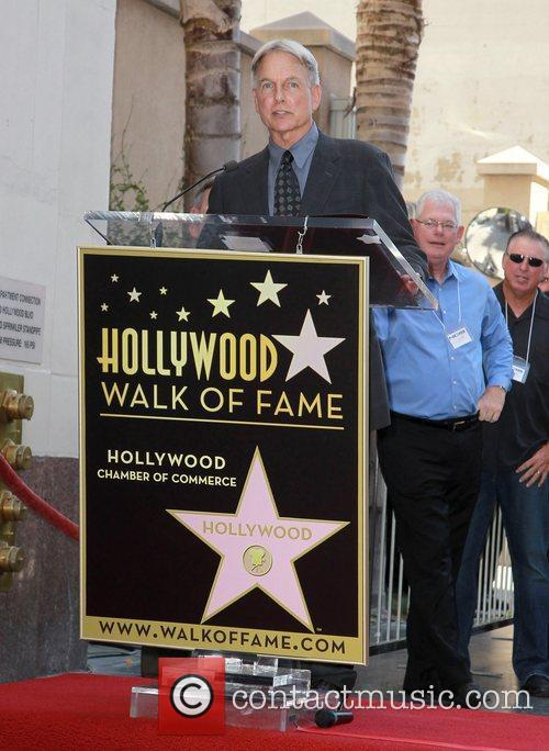 Mark Harmon and Star On The Hollywood Walk Of Fame 3