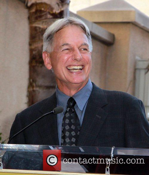 Mark Harmon and Star On The Hollywood Walk Of Fame 1