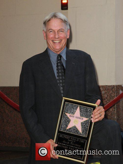 Mark Harmon and Star On The Hollywood Walk Of Fame 9