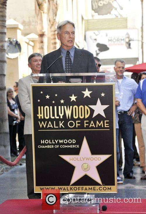 Mark Harmon and Star On The Hollywood Walk Of Fame 15