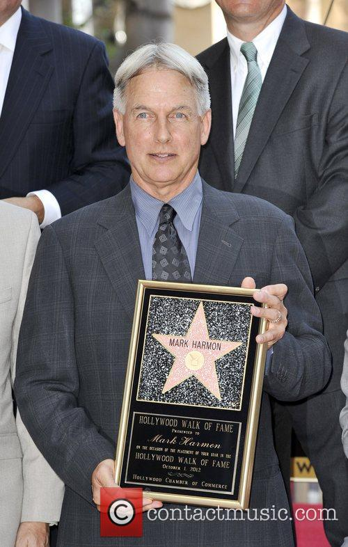 Mark Harmon and Star On The Hollywood Walk Of Fame 13