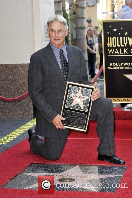 Mark Harmon and Star On The Hollywood Walk Of Fame 16
