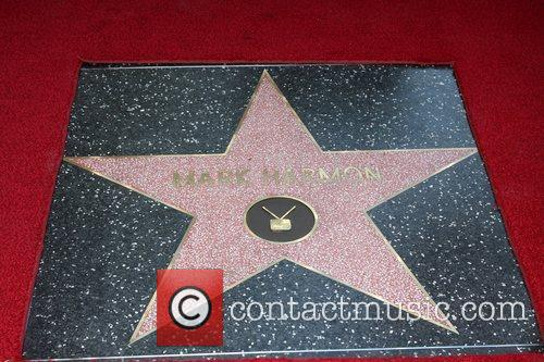 Mark Harmon is honored with a Hollywood Star...