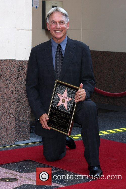 Mark Harmon and Star On The Hollywood Walk Of Fame 22