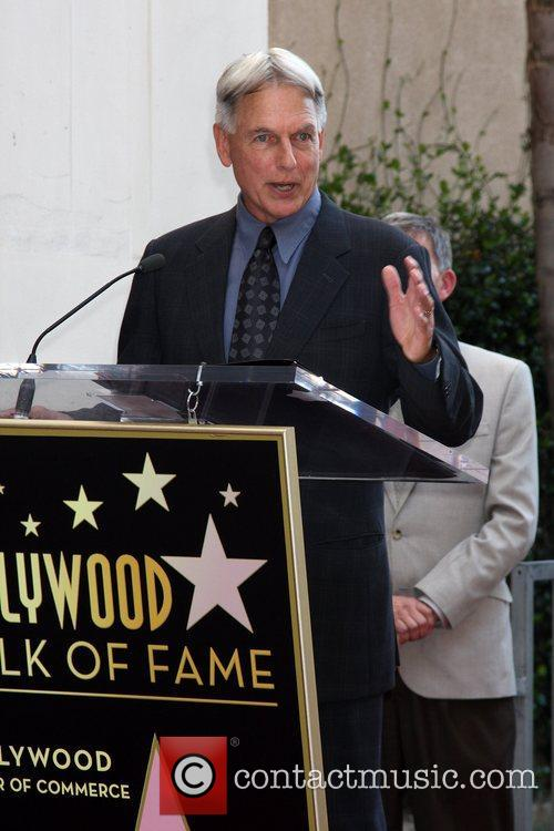 Mark Harmon and Star On The Hollywood Walk Of Fame 21