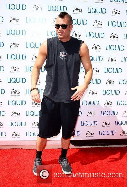 Mark Salling hosts Liquid Pool Lounge at Aria...