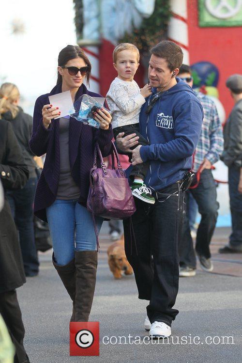 Mark Wahlberg and his wife Rhea Durham take...