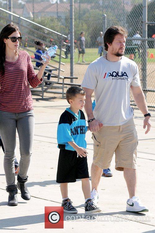 Rhea Durham, Michael Wahlberg and Mark Wahlberg Mark...