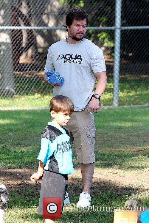 mark wahlberg at a park in brentwood 5943664