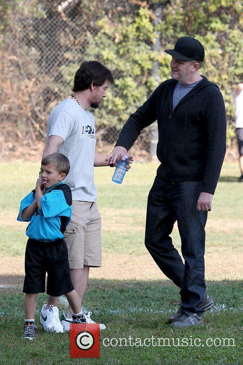 mark wahlberg with son michael wahlberg as 5943672