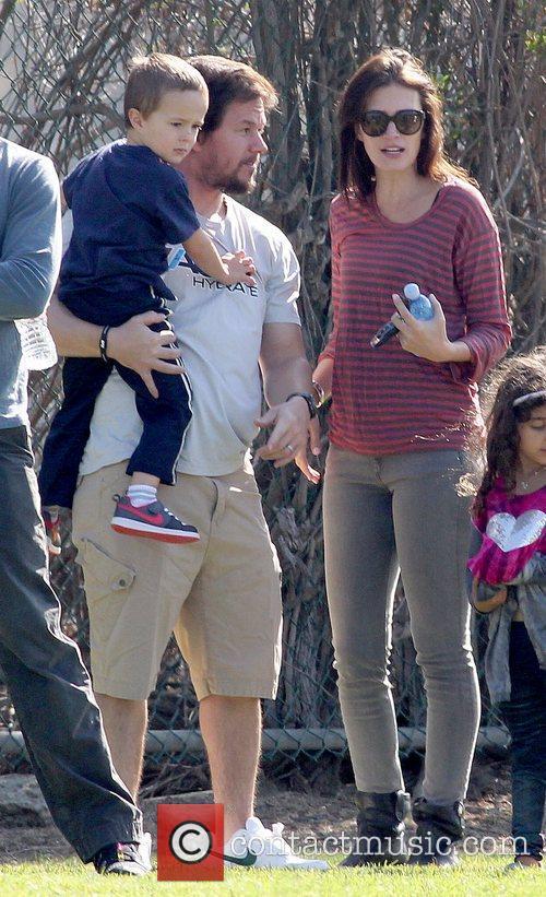 Brendan Wahlberg, Rhea Durham and Mark Wahlberg Mark...