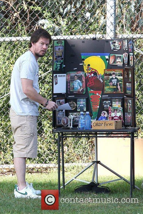 Mark Wahlberg orders his son soccer photos Mark...